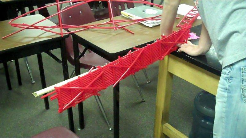 CHS students turn raft into make-shift arm. - Eric Feldman